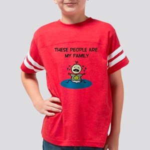 c-my family Youth Football Shirt