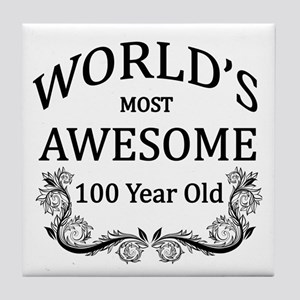 World's Most Awesome 100 Year Old Tile Coaster
