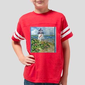 Nantucket Lighthouse Youth Football Shirt