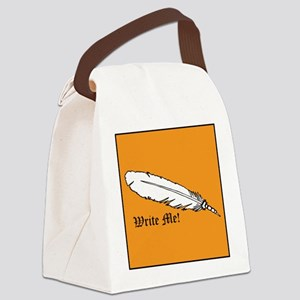 Write Me! Canvas Lunch Bag