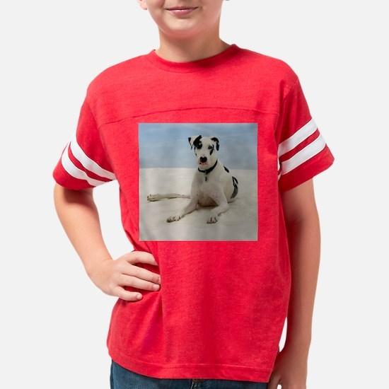 GD beach tile Youth Football Shirt