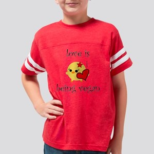 loveis2 Youth Football Shirt