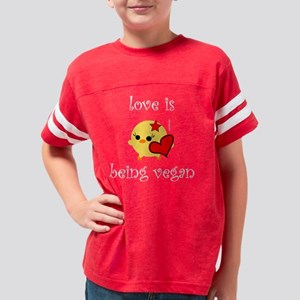 loveis2w Youth Football Shirt