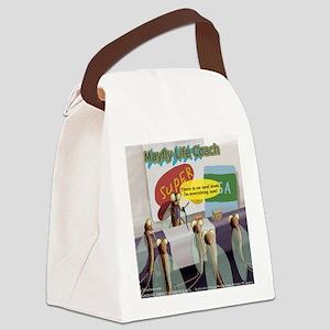 Mayfly Life Coach Canvas Lunch Bag