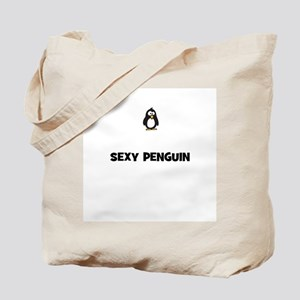 sexy penguin Tote Bag