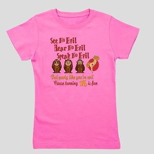 partyevilGIRL75 Girl's Tee