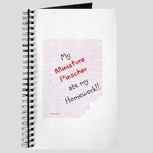 Min Pin Homework Journal