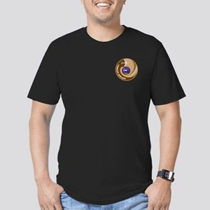 TANKER DRIVER Men's Fitted T-Shirt (dark)