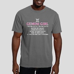 Gemini Girl Hated By Man Mens Comfort Colors Shirt