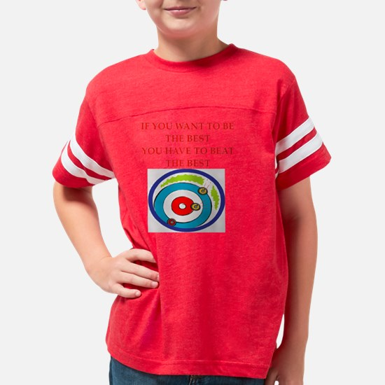curling Youth Football Shirt