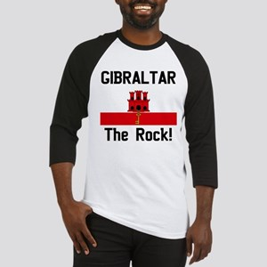 Gibraltar (Front and Back) Baseball Jersey