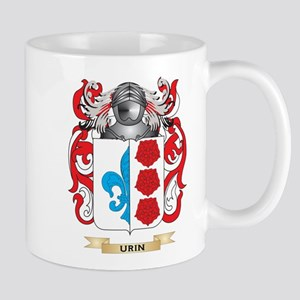 Urin Family Crest (Coat of Arms) Mugs