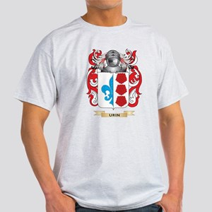Urin Family Crest (Coat of Arms) T-Shirt