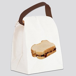 Peanut Butter and Jelly Sandwich Canvas Lunch Bag