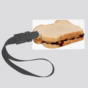 Peanut Butter and Jelly Sandwich Luggage Tag