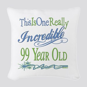 IncredibleGreen99 Woven Throw Pillow