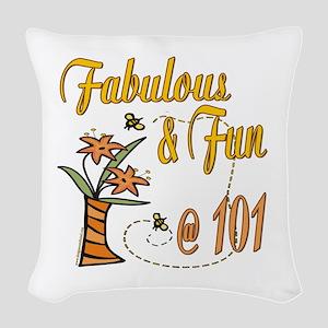 FabulousFun101 Woven Throw Pillow