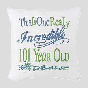 IncredibleGreen101 Woven Throw Pillow