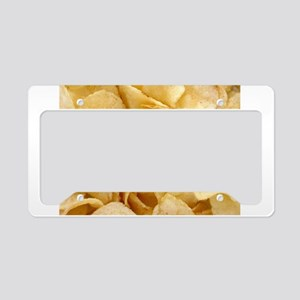 Potato Chips License Plate Holder