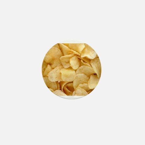Potato Chips Mini Button