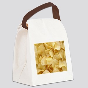 Potato Chips Canvas Lunch Bag
