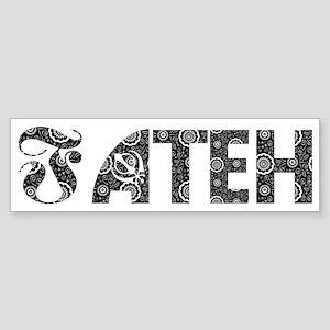 """""""FATEH ' Bumper Sticker"""