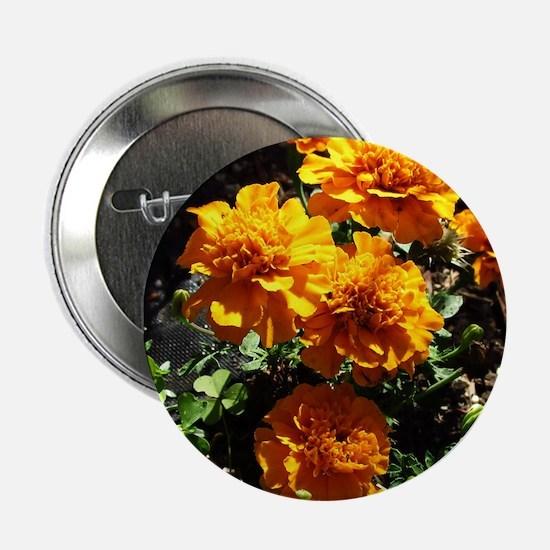 "Autumn Marigolds 2.25"" Button"