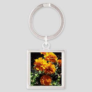 Autumn Marigolds Keychains