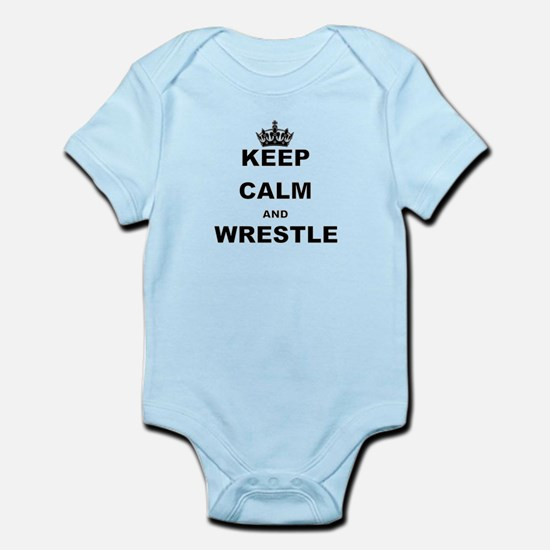 KEEP CALM AND WRESTLE Body Suit