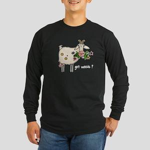 Got weeds ? Long Sleeve Dark T-Shirt