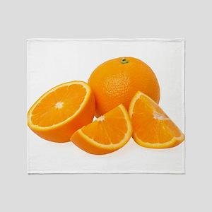 Oranges Throw Blanket