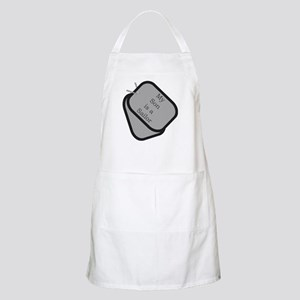 My Son is a Sailor dog tag BBQ Apron