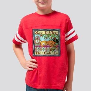 Nappy time 8X8 Youth Football Shirt