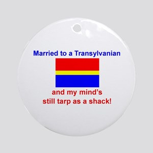 Married To Transylvanian Ornament (Round)