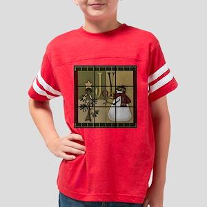 joyfulsnowmantictactoe,board Youth Football Shirt