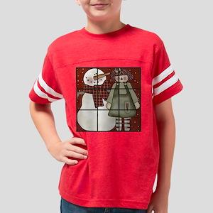 tttsnowannie5 Youth Football Shirt