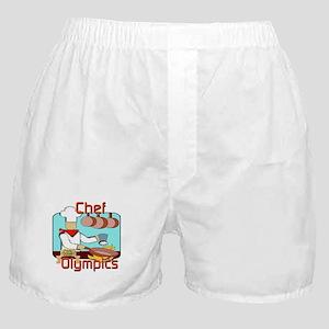 Chef Olympics Boxer Shorts
