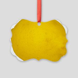 Lemon Ornament
