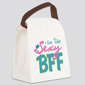 I am the Sexy BFF Canvas Lunch Bag