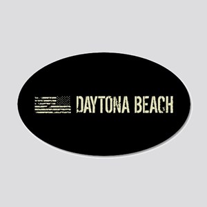 Black Flag: Daytona Beach 20x12 Oval Wall Decal