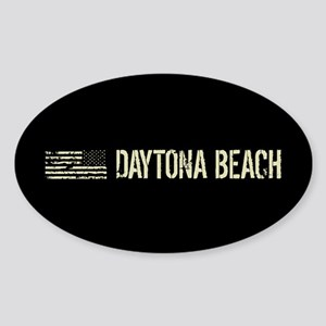 Black Flag: Daytona Beach Sticker (Oval)