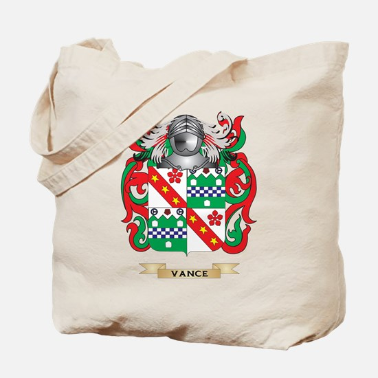 Vance Family Crest (Coat of Arms) Tote Bag