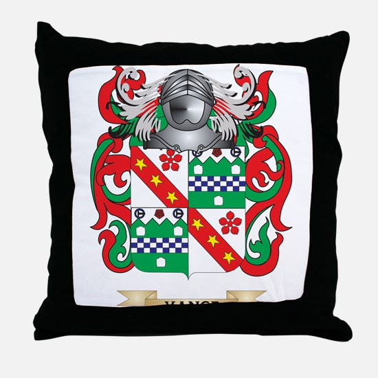 Vance Family Crest (Coat of Arms) Throw Pillow