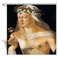 Lucrezia Borgia Shower Curtain