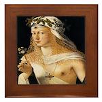 Lucrezia Borgia Framed Tile