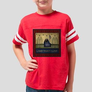 landthatiloveblock Youth Football Shirt