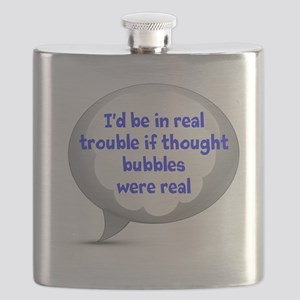 Thought Bubbles Flask