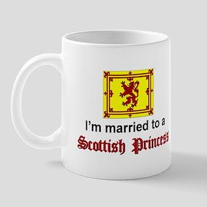 Married To A Scottish Princess Mug