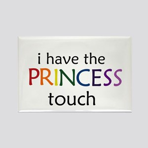 Princess Touch Rectangle Magnet