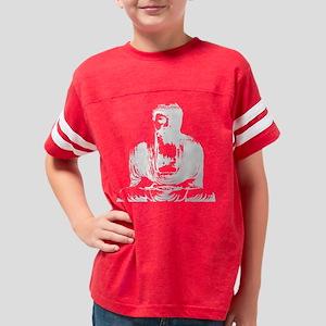 buddha_graphic_wht Youth Football Shirt